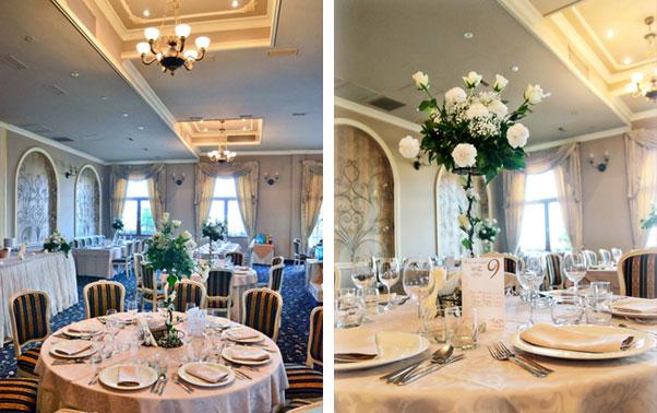 Aranjament sala de nunti Palazzo Oradea
